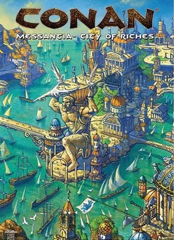 Mongoose Publishing Conan Messantia City of Riches RPG Set