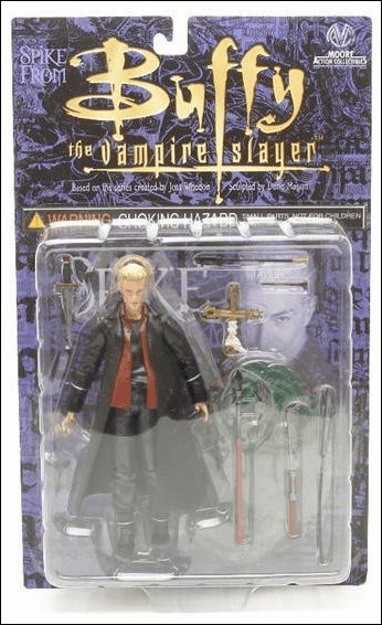 Moore Action Collectibles Buffy The Vampire Slayer Spike Figure