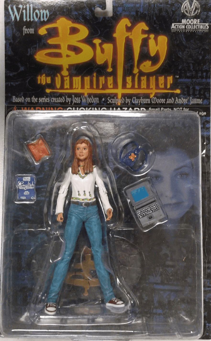 Moore Action Collectibles Buffy The Vampire Slayer Willow Figure