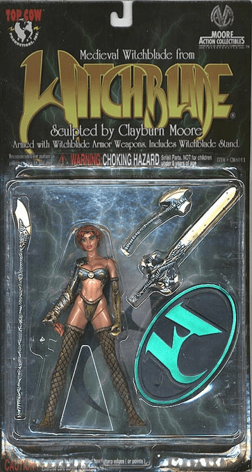Moore Action Collectibles Medieval Witchblade Action Figure