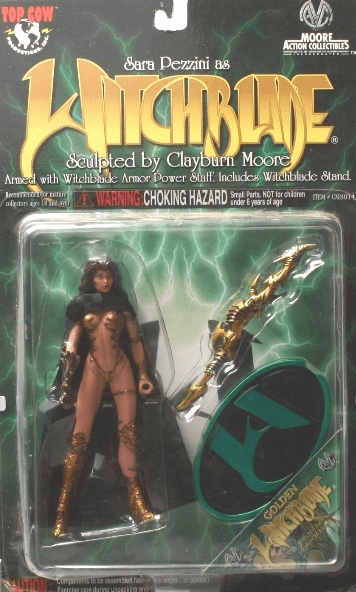 Moore Action Collectibles Sara Pezzini as Golden Witchblade Figure