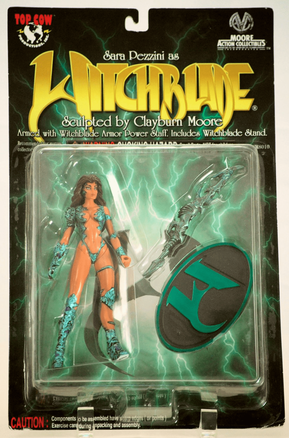 Moore Action Collectibles Sara Pezzini as Witchblade Action Figure
