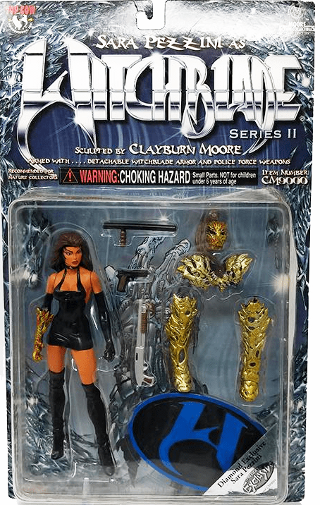 Moore Action Collectibles Sara Pezzini as Witchblade II Figure