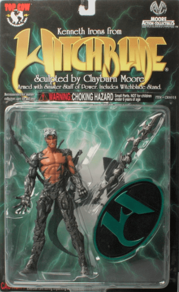 Moore Action Collectibles Witchblade Kenneth Irons Figure