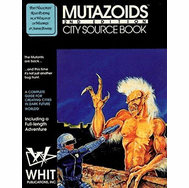 Mutazoids City Role Playing Game Sourcebook 2nd Edition