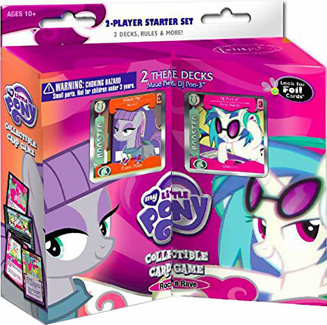 My Little Pony Rock 'N Rave 2-Player Starter Set