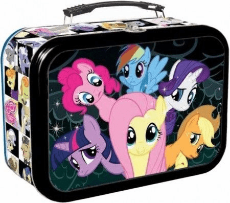 My Little Pony Trading Cards Friendship is Magic Canterlot Lunchbox