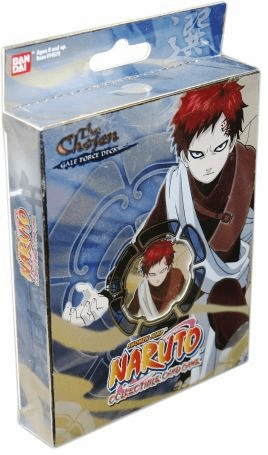Naruto CCG The Chosen Gale Force Theme Deck B