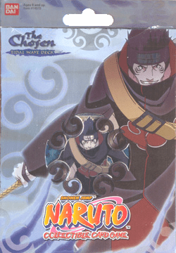 Naruto CCG The Chosen Tidal Wave Theme Deck