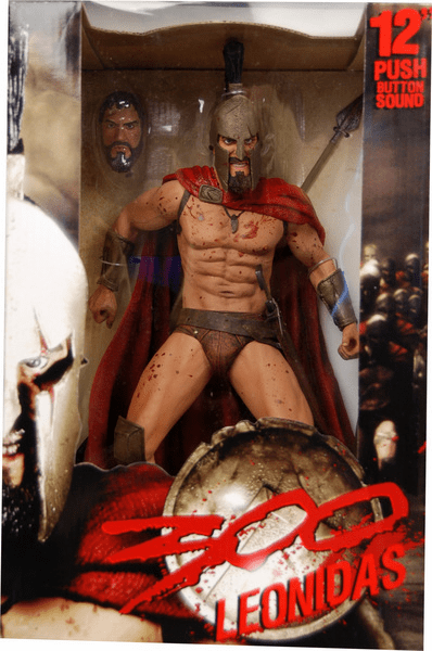 "NECA 300 Leonidas 12"" Figure with Sound"