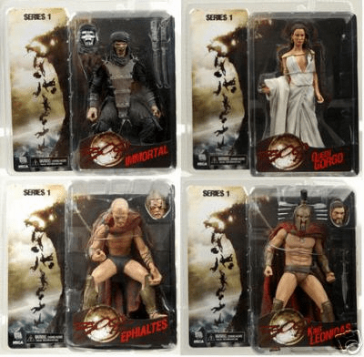 NECA 300 Series Set Figure