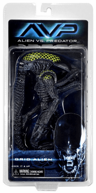 NECA Alien vs Predator Grid Alien Figure