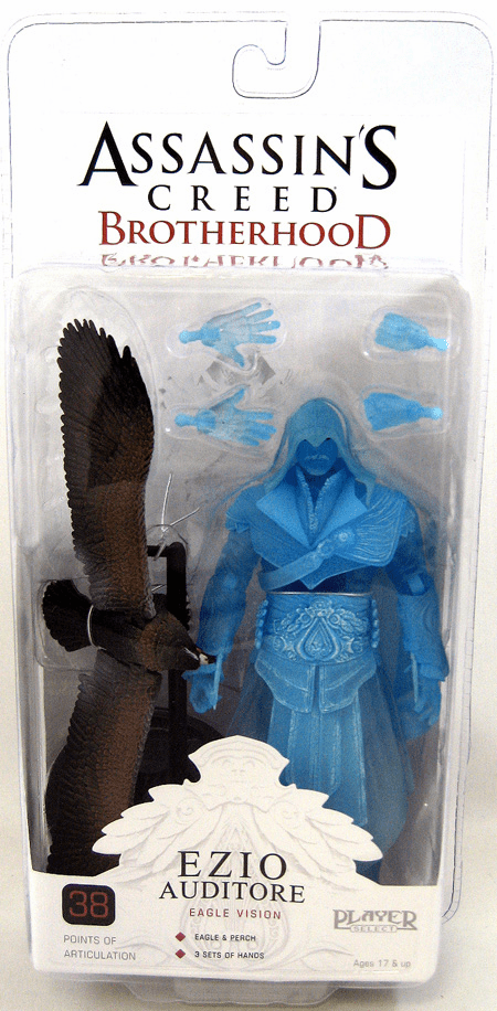 NECA Assassin's Creed Brotherhood Ezio Auditore Eagle Vision Figure
