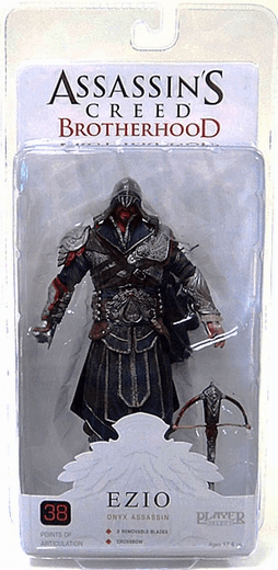 NECA Assassin's Creed Brotherhood Ezio Onyx Figure