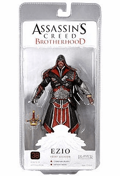 NECA Assassin's Creed Brotherhood Hooded Ezio Ebony Figure