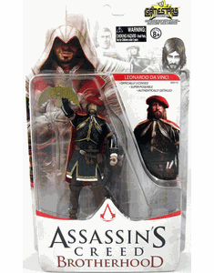 NECA Assassin's Creed Brotherhood Leonardo Da Vinci Figure