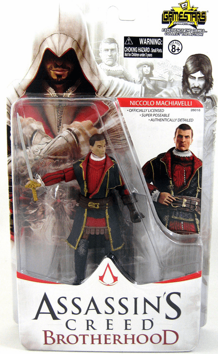 NECA Assassin's Creed Brotherhood Niccolo Machiavelli Figure