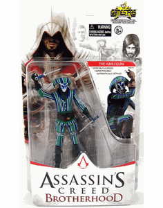 NECA Assassin's Creed Brotherhood The Harlequin Figure