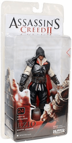 NECA Assassin's Creed II Black Cloak Ezio Figure