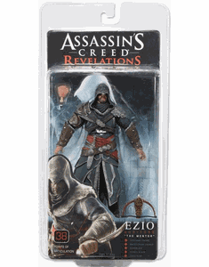 NECA Assassin's Creed Revelations Ezio Auditore The Mentor Figure