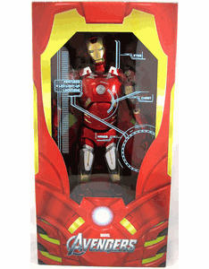 NECA Avengers Iron Man Quarter Scale Figure