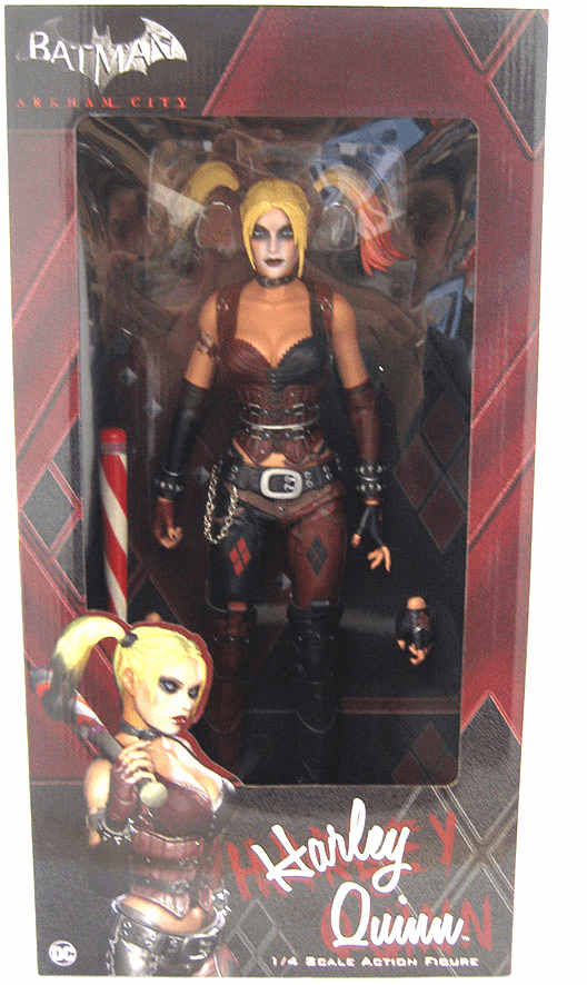NECA Batman Arkham City Harley Quinn Quarter Scale Figure