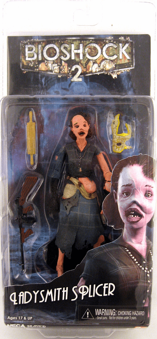 NECA Bioshock 2 Ladysmith Splicer Action Figure