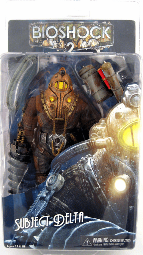 NECA Bioshock 2 Subject Delta Action Figure