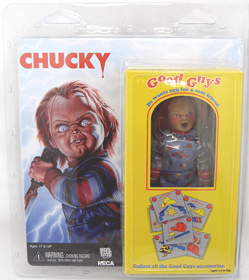 NECA Child's Play Retro Clothed Chucky Figure
