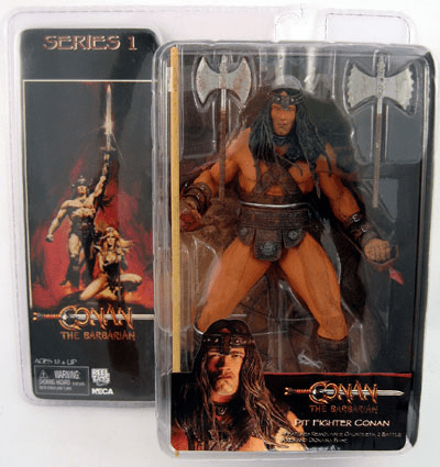 NECA Conan The Barbarian Pit Fighter Conan Figure