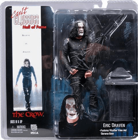 NECA Cult Classics Hall of Fame Series 1 Eric Draven Crow Figure