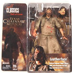 NECA Cult Classics Hall of Fame Series 2 Texas Chainsaw Massacre Leatherface Beginning Figure