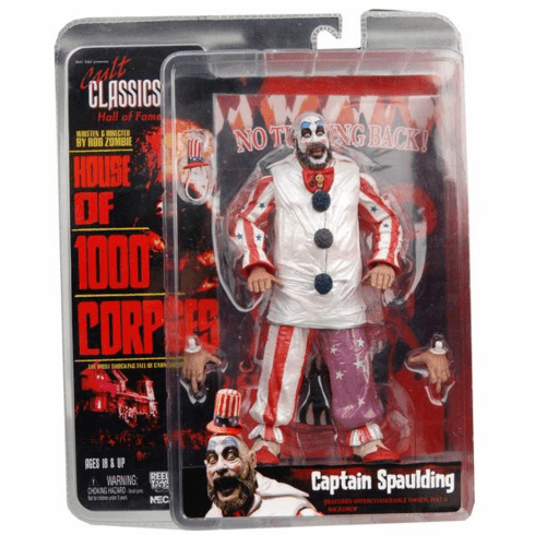 NECA Cult Classics Hall of Fame Series 3 Captain Spaulding Figure