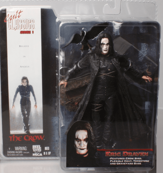 NECA Cult Classics Series 1 The Crow Eric Draven Figure