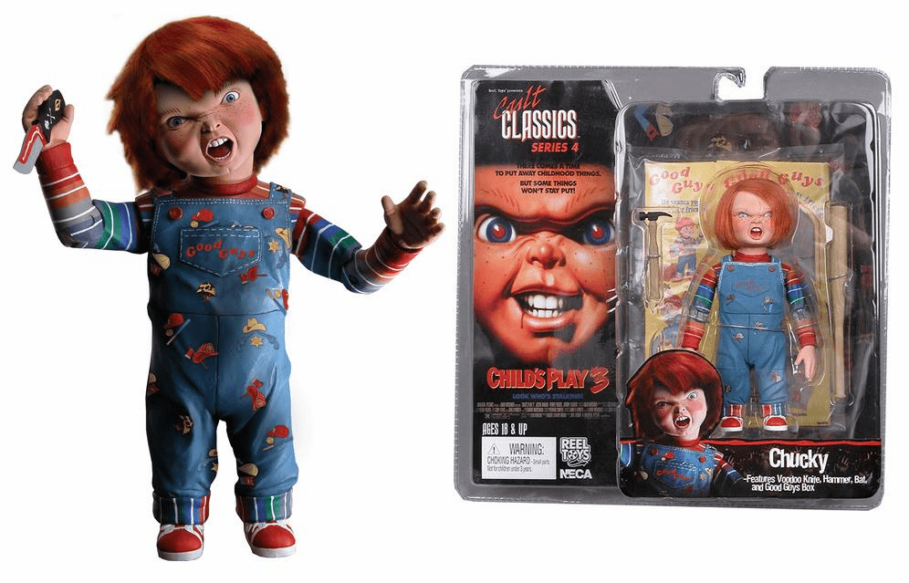 NECA Cult Classics Series 4 Chucky Action Figure