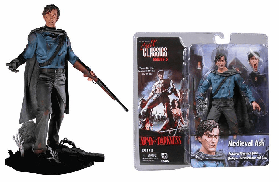 NECA Cult Classics Series 5 Medieval Ash Action Figure