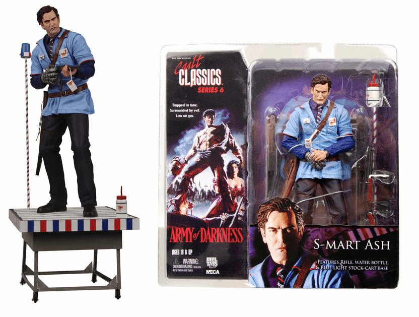 NECA Cult Classics Series 6 S-Mart Ash Action Figure