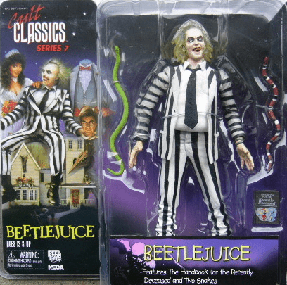 NECA Cult Classics Series 7 Beetlejuice Action Figure