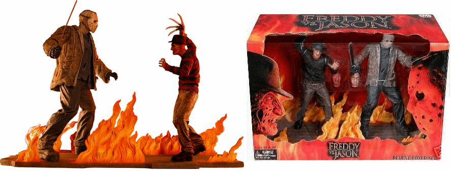 NECA Freddy vs. Jason Action Figure Box Set