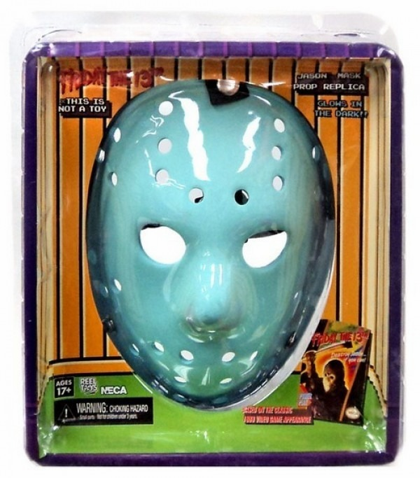 NECA Friday the 13th 1989 Video Game Mask Prop Replica