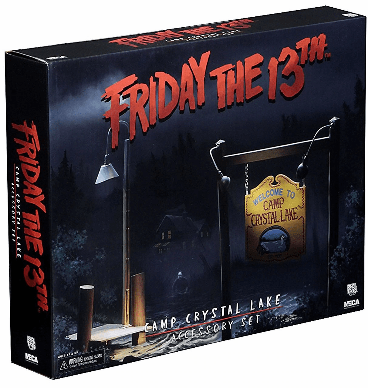 NECA Friday the 13th Camp Crystal Lake Accessory Pack