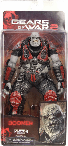 NECA Gears of War 2 Boomer Figure