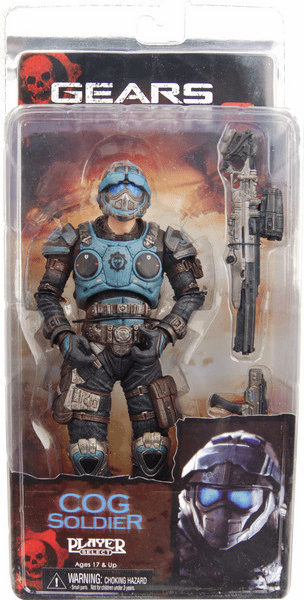 NECA Gears of War 2 Series 3 COG Soldier Action Figure