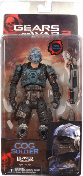 NECA Gears of War 2 Series 5 COG Soldier Figure