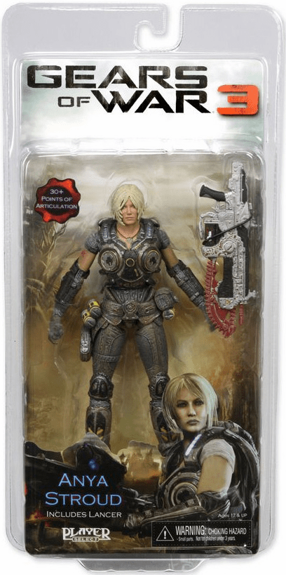 NECA Gears of War 3 Anya Stroud Action Figure