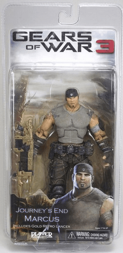 NECA Gears of War 3 Journey's End Marcus Action Figure