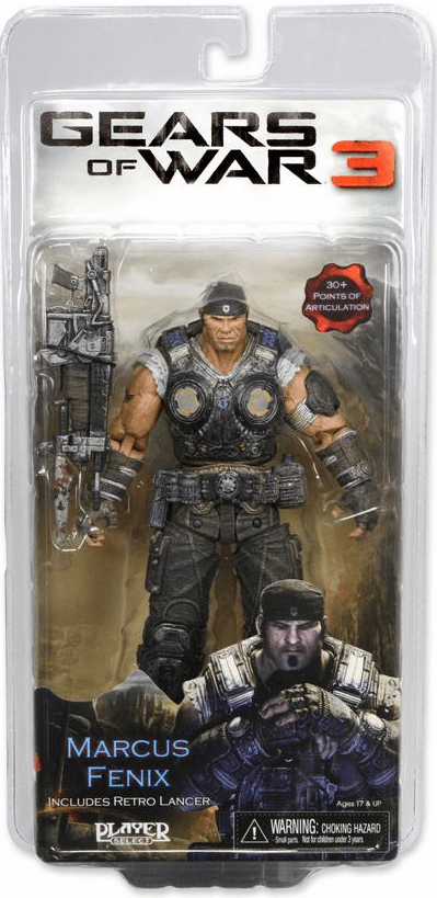 NECA Gears of War 3 Marcus Fenix Action Figure