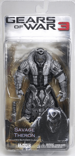 NECA Gears of War 3 Savage Theron Version 1 Action Figure