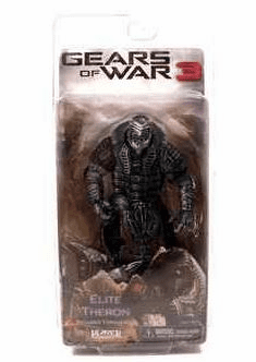 NECA Gears of War 3 SDCC Elite Theron Action Figure