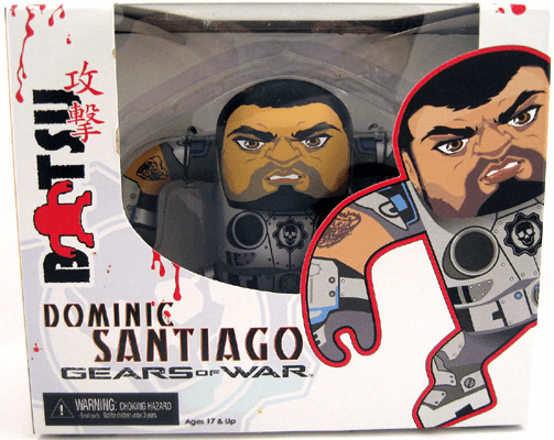 NECA Gears of War Batsu Dominic Santiago Figure